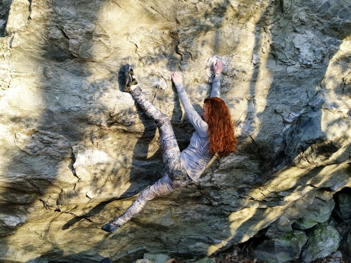 moores wall climbing