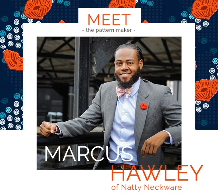 Meet the Patternmaker: Marcus Hawley of Natty Neckware | Sprout Patterns Blog